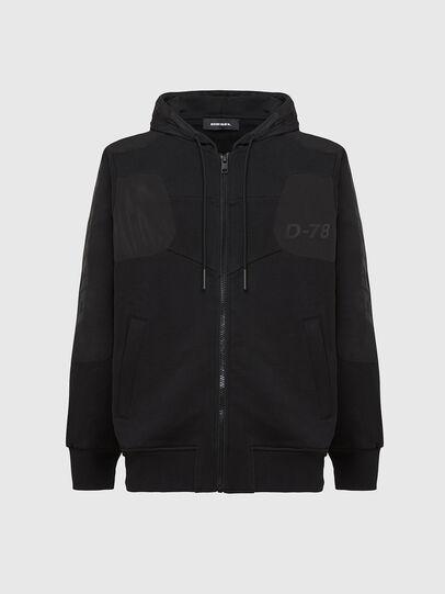 Diesel - S-JAKLER, Black - Sweatshirts - Image 1