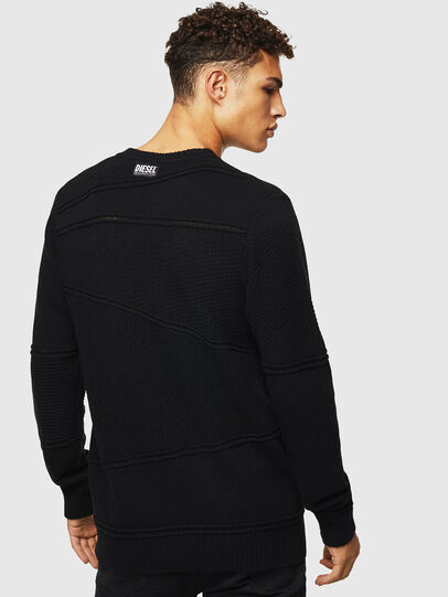 Diesel - K-PATHY, Black - Sweaters - Image 2