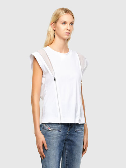 Diesel - T-GARTH, White - Tops - Image 5