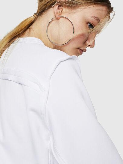 Diesel - F-LYANY-F, White - Sweatshirts - Image 4