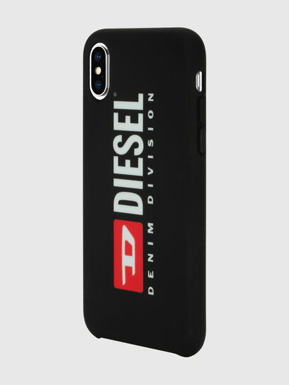 Diesel - DIESEL PRINTED CO-MOLD CASE FOR IPHONE XS & IPHONE X, Black/White - Cases - Image 5