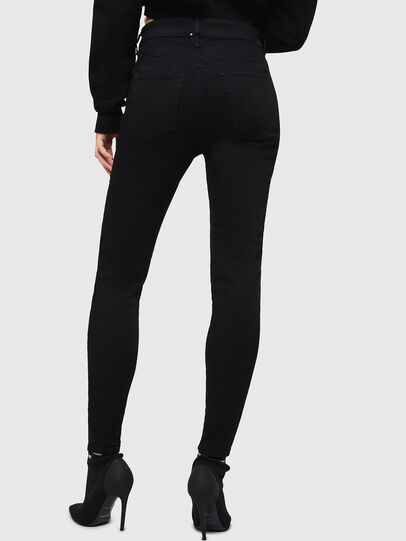 Diesel - Slandy High 069EF, Black/Dark Grey - Jeans - Image 2