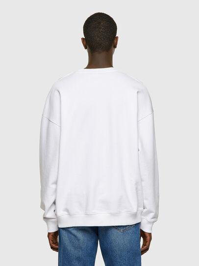 Diesel - S-MART-INLOGO, White - Sweatshirts - Image 2