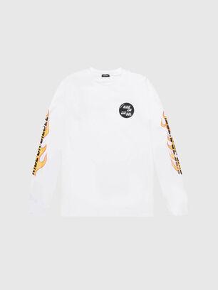 US-T-JUST-LS-POP-MAR,  - T-Shirts