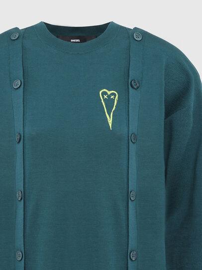 Diesel - M-MIRANDA, Water Green - Sweaters - Image 4