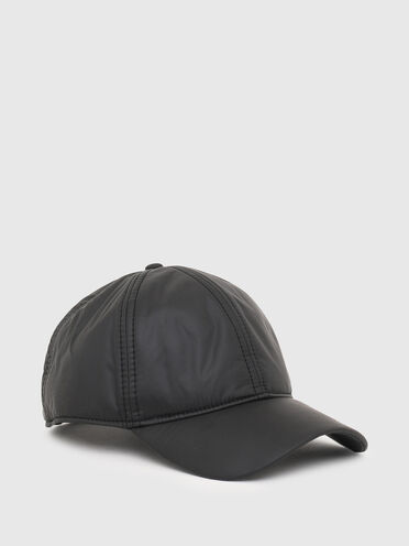 Padded baseball cap