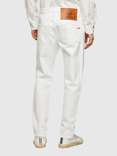 Diesel - D-Fining Tapered Jeans 0HBAJ, White - Jeans - Image 2
