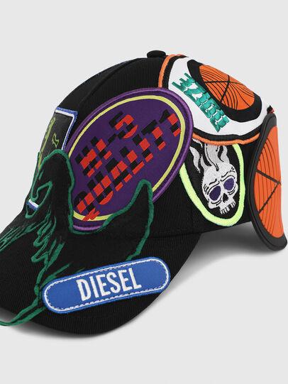 Diesel - CEPAT, Multicolor/Black - Caps - Image 3