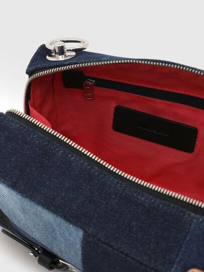 Diesel - CROSSAGE, Blue - Crossbody Bags - Image 4