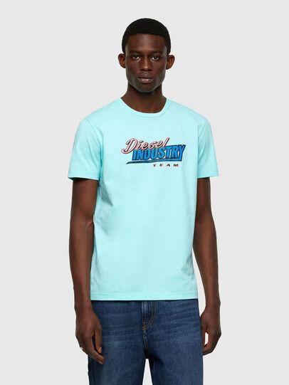 Diesel - T-DIEGOS-K37, Light Blue - T-Shirts - Image 1