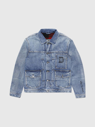 CL-D-BIL, Light Blue - Denim Jackets