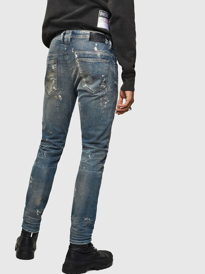 Diesel - Thommer JoggJeans 0870X, Medium Blue - Jeans - Image 2