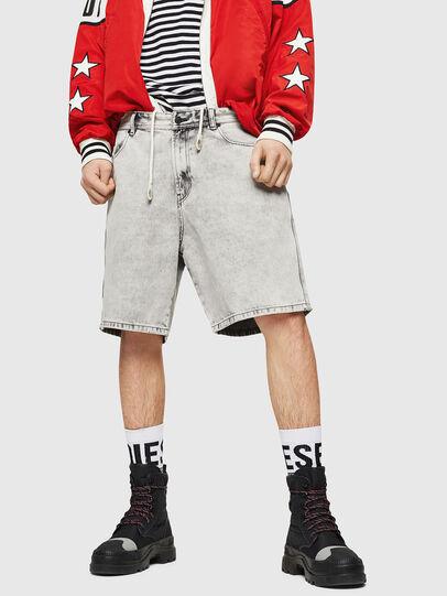 Diesel - D-WILLOH, Light Grey - Shorts - Image 1