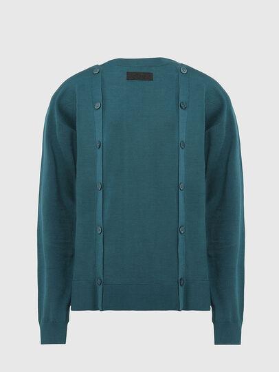 Diesel - M-MIRANDA, Water Green - Sweaters - Image 2