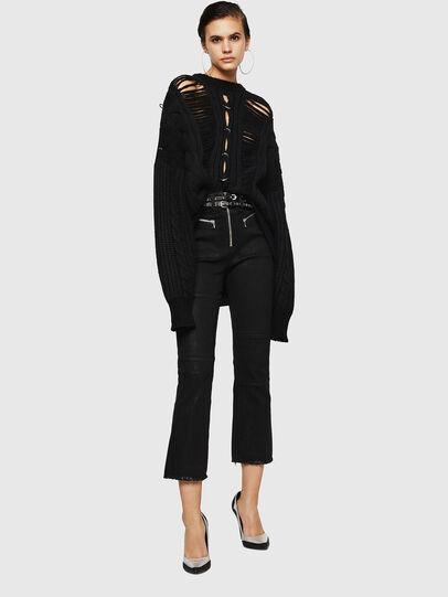 Diesel - MEBLY, Black - Sweaters - Image 6