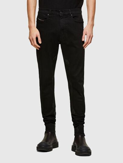 Diesel - D-Istort Skinny Jeans 069TI, Black/Dark Grey - Jeans - Image 1