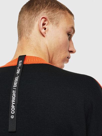 Diesel - K-MELTER, Multicolor/Black - Sweaters - Image 5