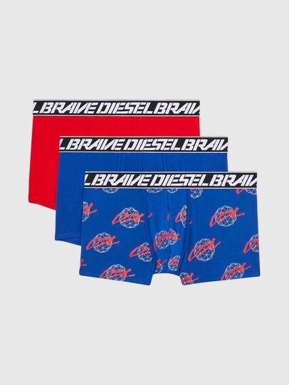 Diesel - UMBX-DAMIENTHREEPACK, Blue/Red - Trunks - Image 1