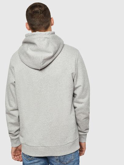 Diesel - S-GIR-HOOD-B4, Light Grey - Sweatshirts - Image 2