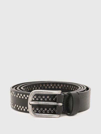 Diesel - B-INARY, Negro - Cinturones - Image 1