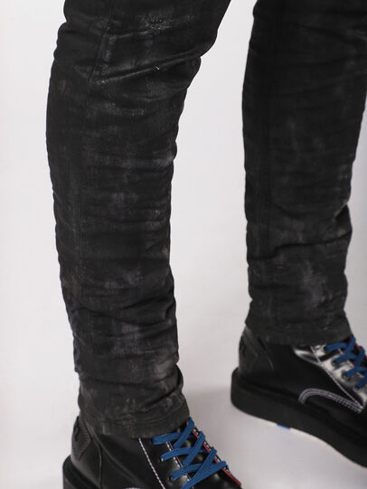 Diesel - Krooley JoggJeans 069AS, Black/Dark Grey - Jeans - Image 6