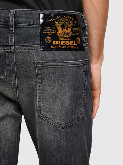 Diesel - D-Reeft JoggJeans® 009SU, Negro/Gris oscuro - Vaqueros - Image 4