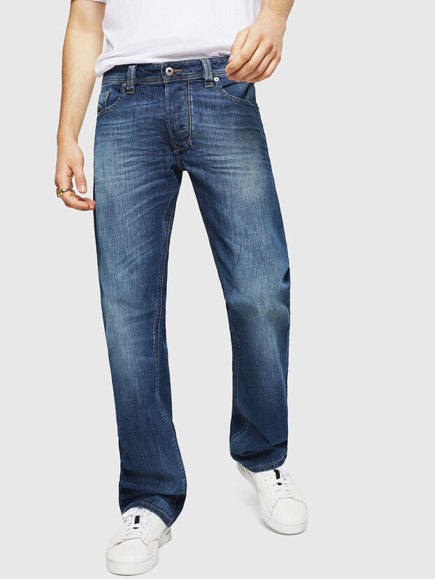 Larkee C89AR, Dark Blue - Jeans