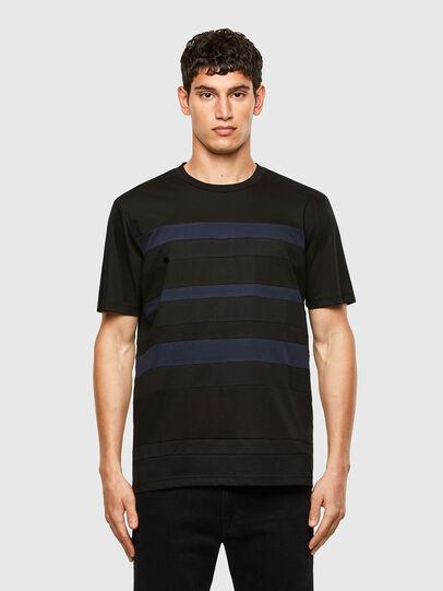 Diesel - T-LOUD, Black - T-Shirts - Image 1
