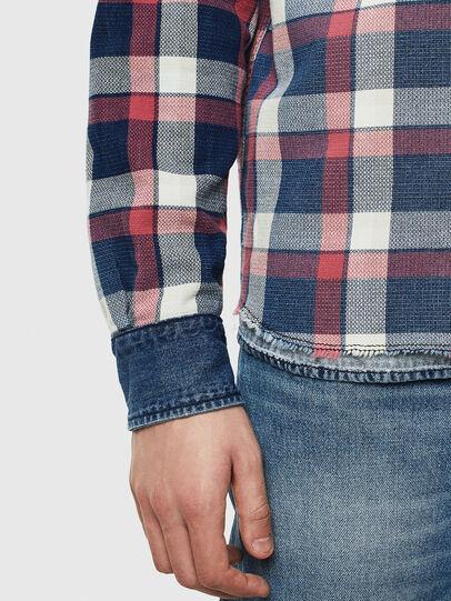 Diesel - D-WEAR-B, Blue Jeans - Denim Shirts - Image 4