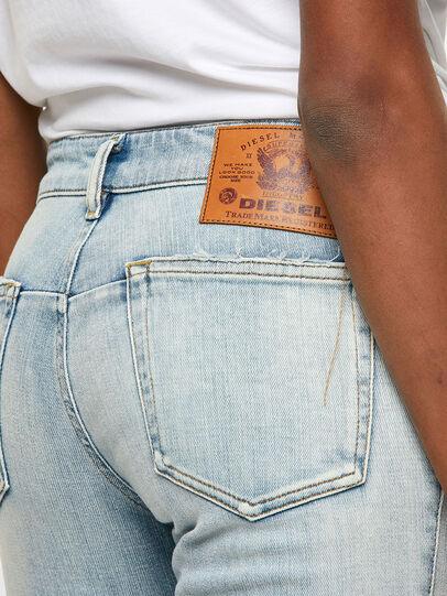 Diesel - D-Jevel Slim Jeans 009PQ, Light Blue - Jeans - Image 4