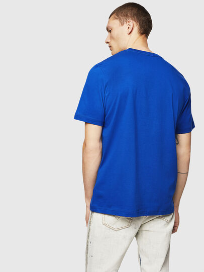 Diesel - T-JUST-A5, Brilliant Blue - T-Shirts - Image 2
