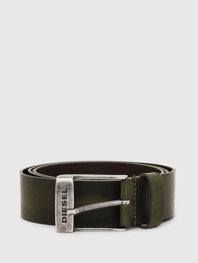 Diesel - B-TOMBOLO, Dark Green - Belts - Image 1