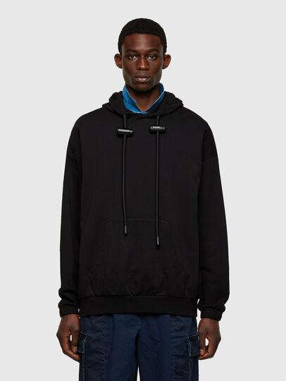 Diesel - S-BALIRIB, Black - Sweatshirts - Image 1