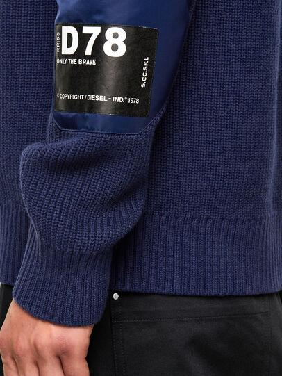 Diesel - K-GILLING, Blue - Sweaters - Image 4
