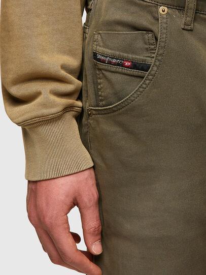 Diesel - Krooley Tapered JoggJeans® 0670M, Dark Green - Jeans - Image 4