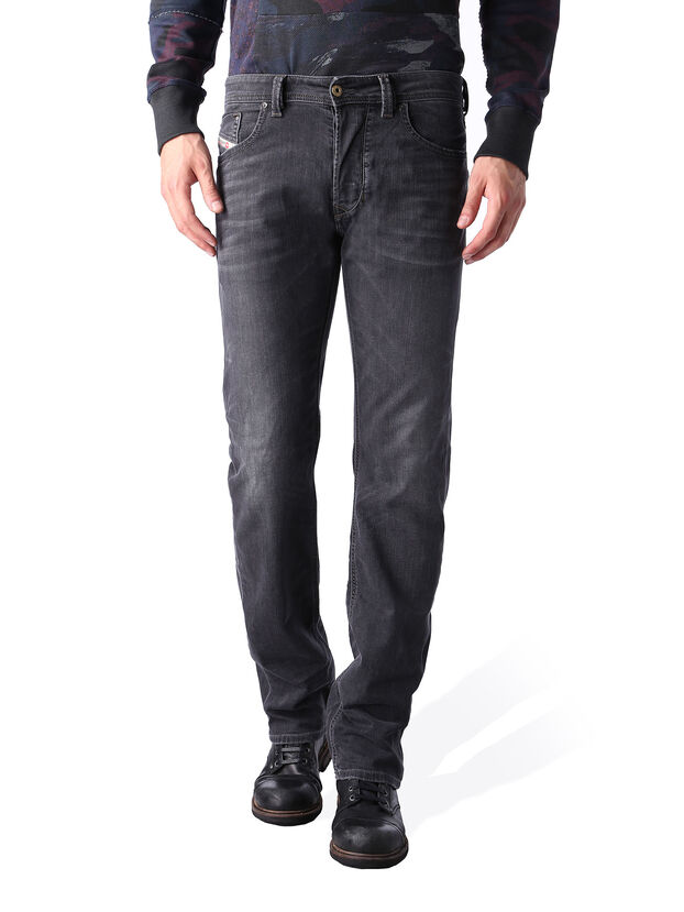 Larkee 0669F, Black/Dark Grey - Jeans
