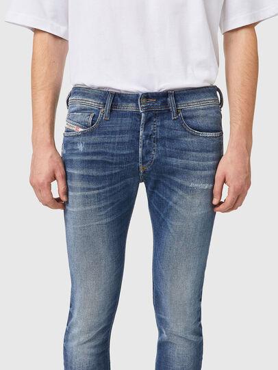 Diesel - Skinny Jeans 09A86, Light Blue - Jeans - Image 3