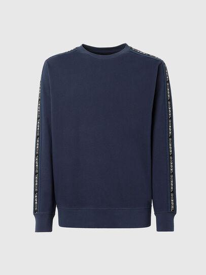 Diesel - UMLT-WILLY, Blue - Sweatshirts - Image 1