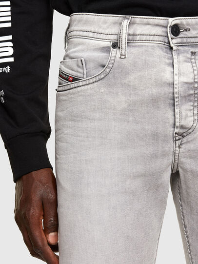 Diesel - Buster Tapered Jeans 069RP, Light Grey - Jeans - Image 3