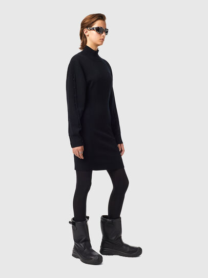 Diesel - M-NUNAVUT, Black - Dresses - Image 4