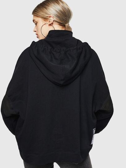 Diesel - F-AVAL, Black - Sweatshirts - Image 2