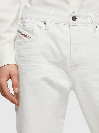 Diesel - D-Fining Tapered Jeans 0HBAJ, White - Jeans - Image 3