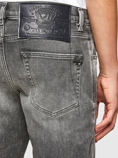 Diesel - D-Strukt Slim Jeans 009MY, Light Grey - Jeans - Image 3