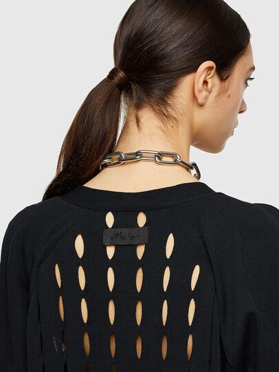 Diesel - M-ONYX, Black - Sweaters - Image 4