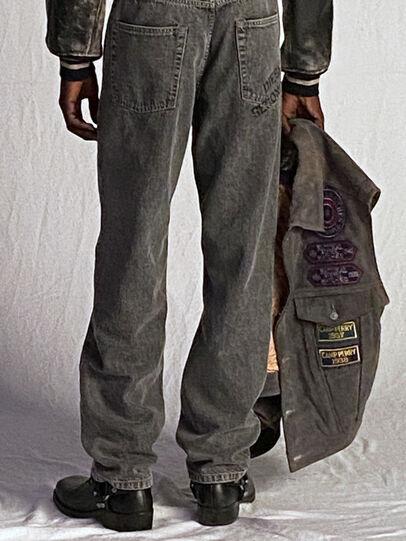 Diesel - DxD-4, Dark Grey - Leather jackets - Image 6