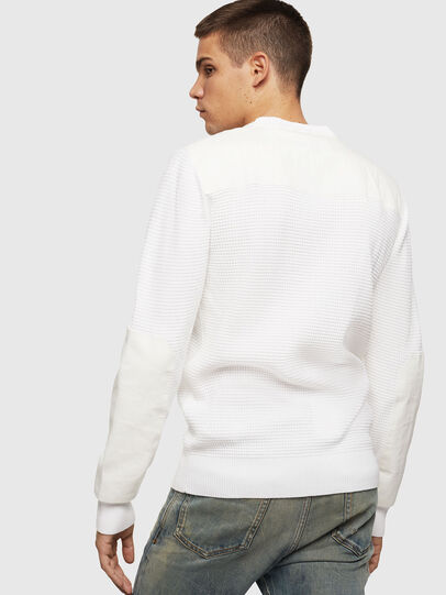 Diesel - K-LESTER, White - Sweaters - Image 2
