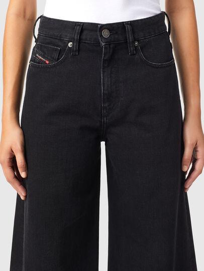 Diesel - D-Akemi Bootcut Jeans Z09RL, Black/Dark Grey - Jeans - Image 3