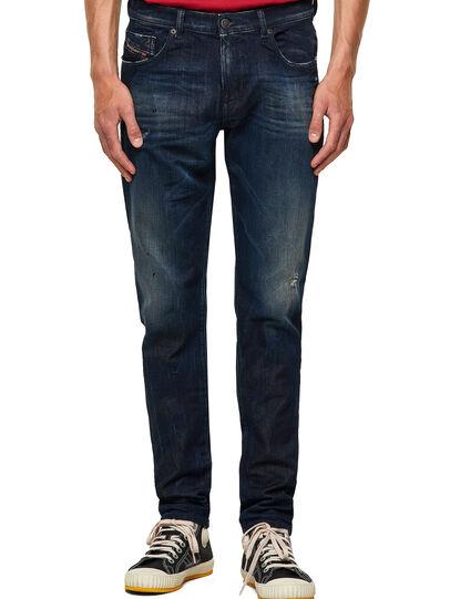 Diesel - D-Strukt Slim JoggJeans® 09B50, Dark Blue - Jeans - Image 1