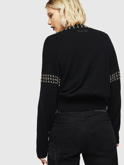 Diesel - M-KRIPX, Black - Sweaters - Image 2