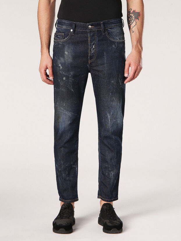 Jifer 084SW, Dark Blue - Jeans